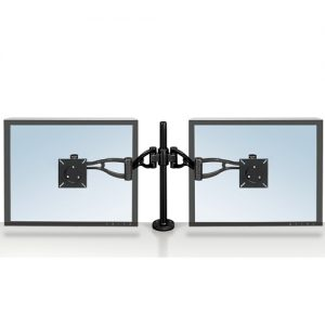 Fellowes Adjustable Dual Monitor Arm